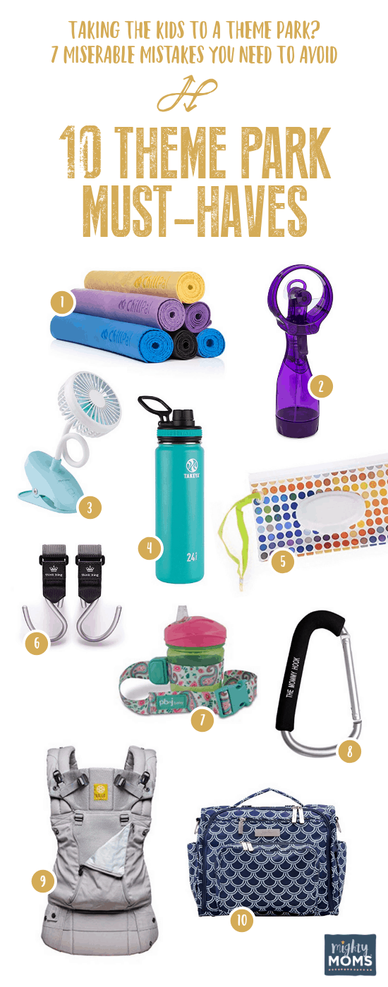 Items to Bring on Your Kids Theme Park Vacation - MightyMoms.club