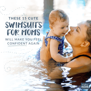 Who says mom swimsuits can't be cute? MightyMoms.club