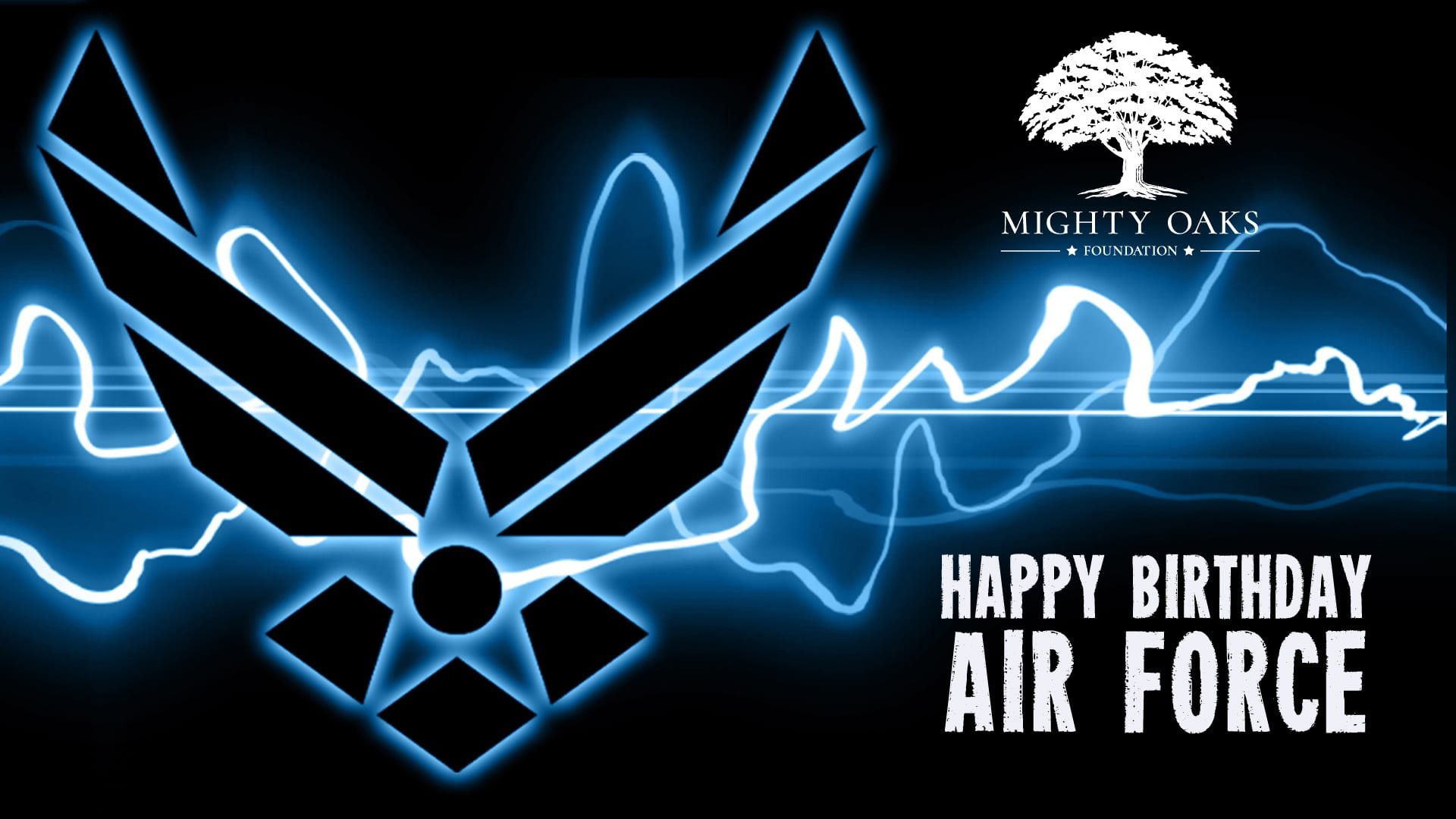 Happy Birthday Air Force Mighty Oaks Foundation
