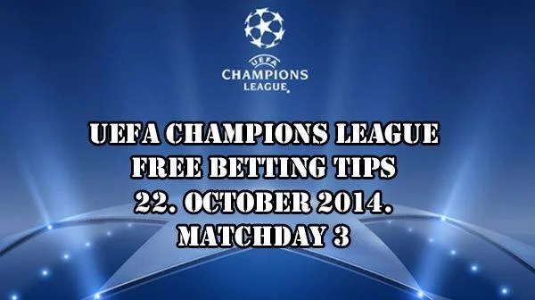 UEFA Champions League Free Betting Tips 22.10.2014.