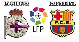 Deportivo La Coruna vs Barcelona Prediction