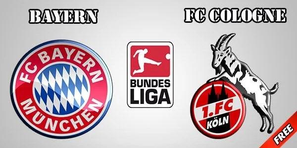 Bayern Munich vs Cologne Prediction and Betting Tips