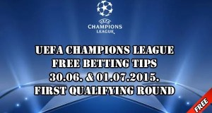 Champions League Prediction of First Qualifying Round