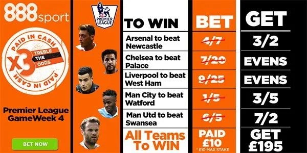 Premier League Bet for Week4