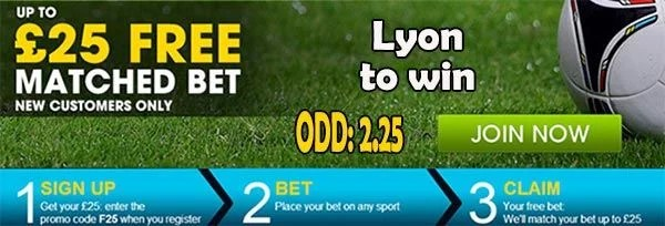 Nantes vs Lyon Bet