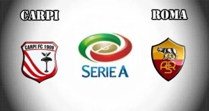 Carpi vs Roma Prediction and Betting Tips