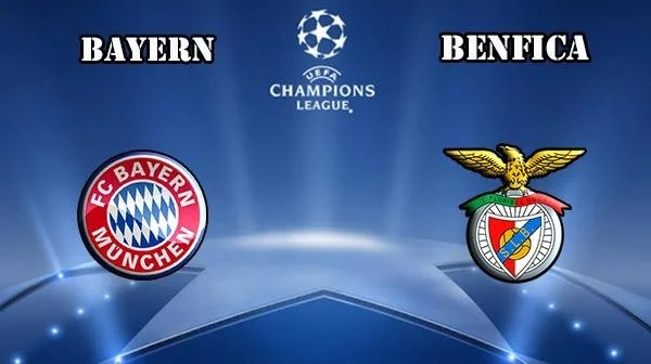 Bayern vs Benfica Prediction and Betting Tips