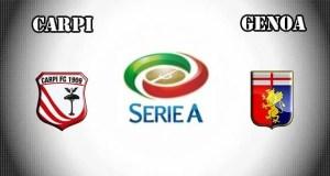 Carpi vs Genoa Prediction and Betting Tips