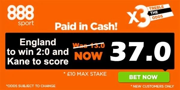 England vs Iceland Bet and Prediction
