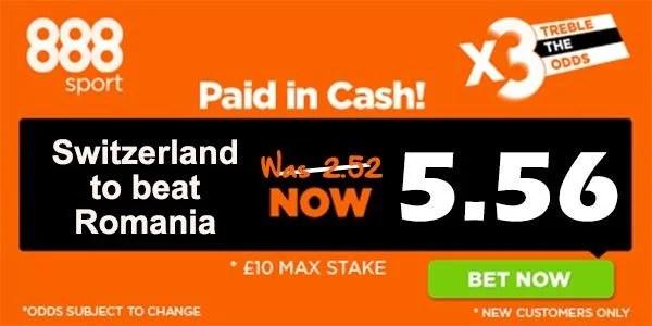Romania vs Switzerland Bet and Prediction