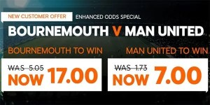 Bournemouth vs Manchester United Prediction and Bet