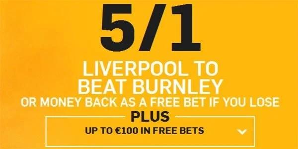 Burnley vs Liverpool Prediction and Bet