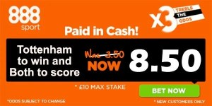 Tottenham vs Crystal Palace Prediction and Bet