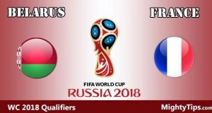 Belarus vs France Prediction and Betting Tips