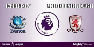 Everton vs Middlesbrough Prediction and Betting Tips