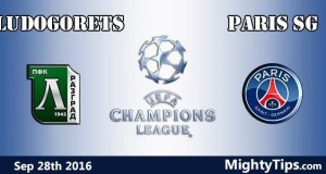 Ludogorets vs PSG Prediction and Betting Tips