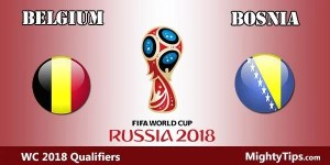 Belgium vs Bosnia Prediction and Betting Tips