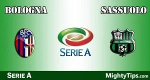 Bologna vs Sassuolo Prediction and Betting Tips