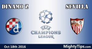 Dinamo Zagreb vs Sevilla Prediction and Betting Tips