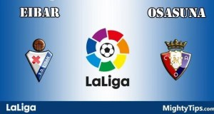 Eibar vs Osasuna Prediction and Betting Tips