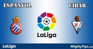 Espanyol vs Eibar Prediction and Betting Tips
