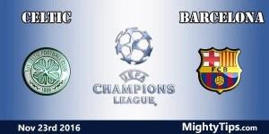 Celtic vs Barcelona Prediction and Betting Tips