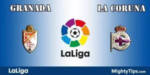 Granada vs La Coruna Prediction and Betting Tips