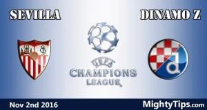 Sevilla vs Dinamo Zagreb Prediction and Betting Tips