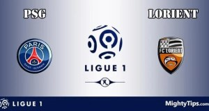 PSG vs Lorient Prediction and Betting Tips