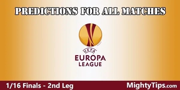 Europa League Prediction and Betting Tips 2nd Leg