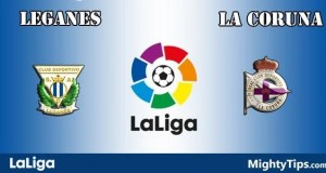 Leganes vs La Coruna Prediction and Betting Tips