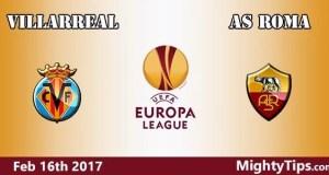 Villarreal vs Roma Prediction and Betting Tips