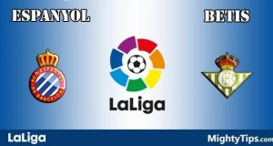 Espanyol vs Betis Prediction and Betting Tips