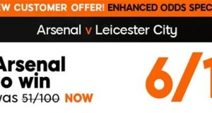 Arsenal vs Leicester Prediction and Bet