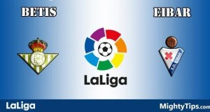 Betis vs Eibar Prediction and Betting Tips