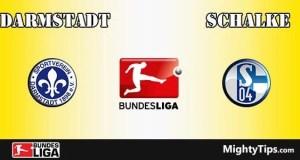 Darmstadt vs Schalke Prediction and Betting Tips