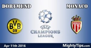 Dortmund vs Monaco Prediction and Betting Tips