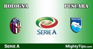 Bologna vs Pescara Prediction and Betting Tips