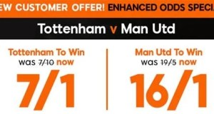 Tottenham vs Manchester Prediction and Bet