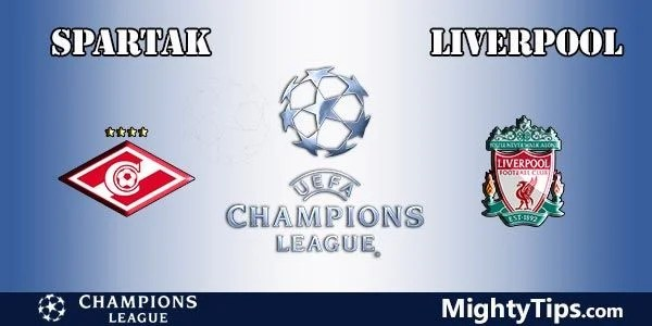 Spartak vs Liverpool Prediction, Preview and Bet
