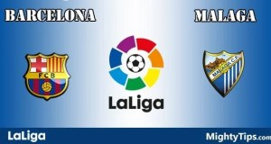 Barcelona vs Malaga Prediction, Preview and Bet