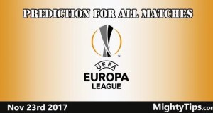 Europa League MatchDay 5 Predictions and Betting Tips