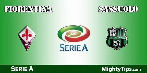 Fiorentina vs Sassuolo Prediction, Preview and Bet