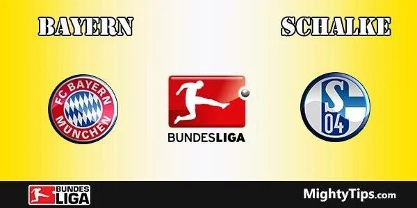 Bayern vs Schalke Predictions and Betting Tips