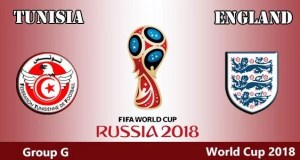 Tunisia vs England World Cup 2018
