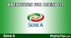 Serie A Predictions and Betting Tips Round 34