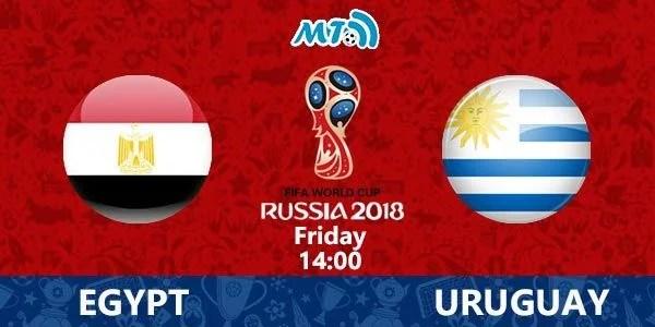Výsledek obrázku pro egypt uruguay