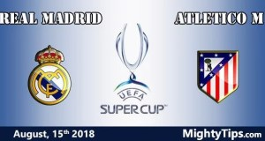 Real Madrid vs Atletico Prediction UEFA Super Cup