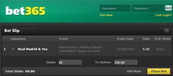Real Madrid vs Atletico Super Cup Prediction and Bet