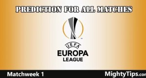 Europa League Matchweek 1 Prediction and Betting Tips